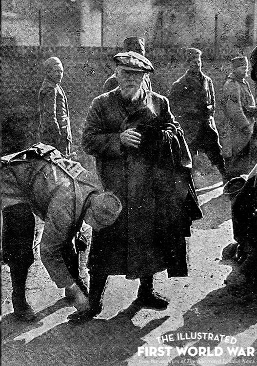A war-artist at the front