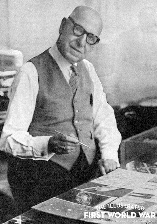 G. H. Davis, ILN diagrammatic artist