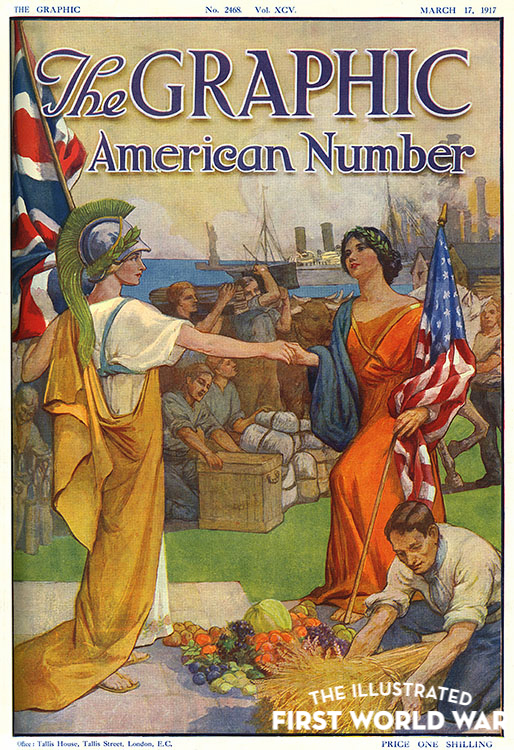 America joins the First World War