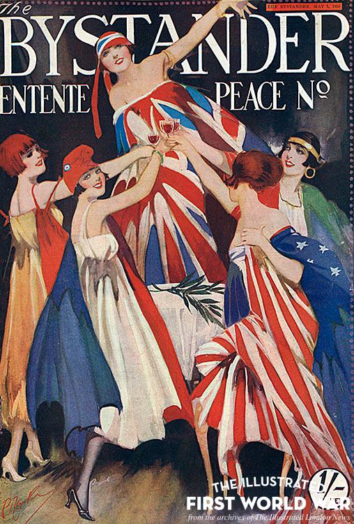 Bystander Entente Peace number front cover, 1919