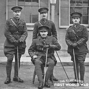 E.H. Shepard & Bruce Ingram, Royal Garrison Artillery, WW1