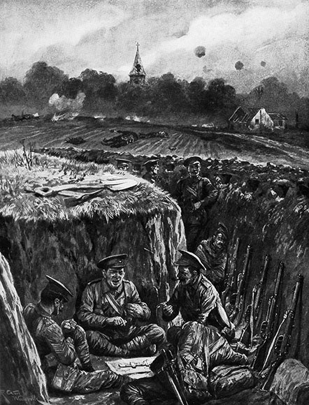 The Illustrated London News. October 10th 1914.