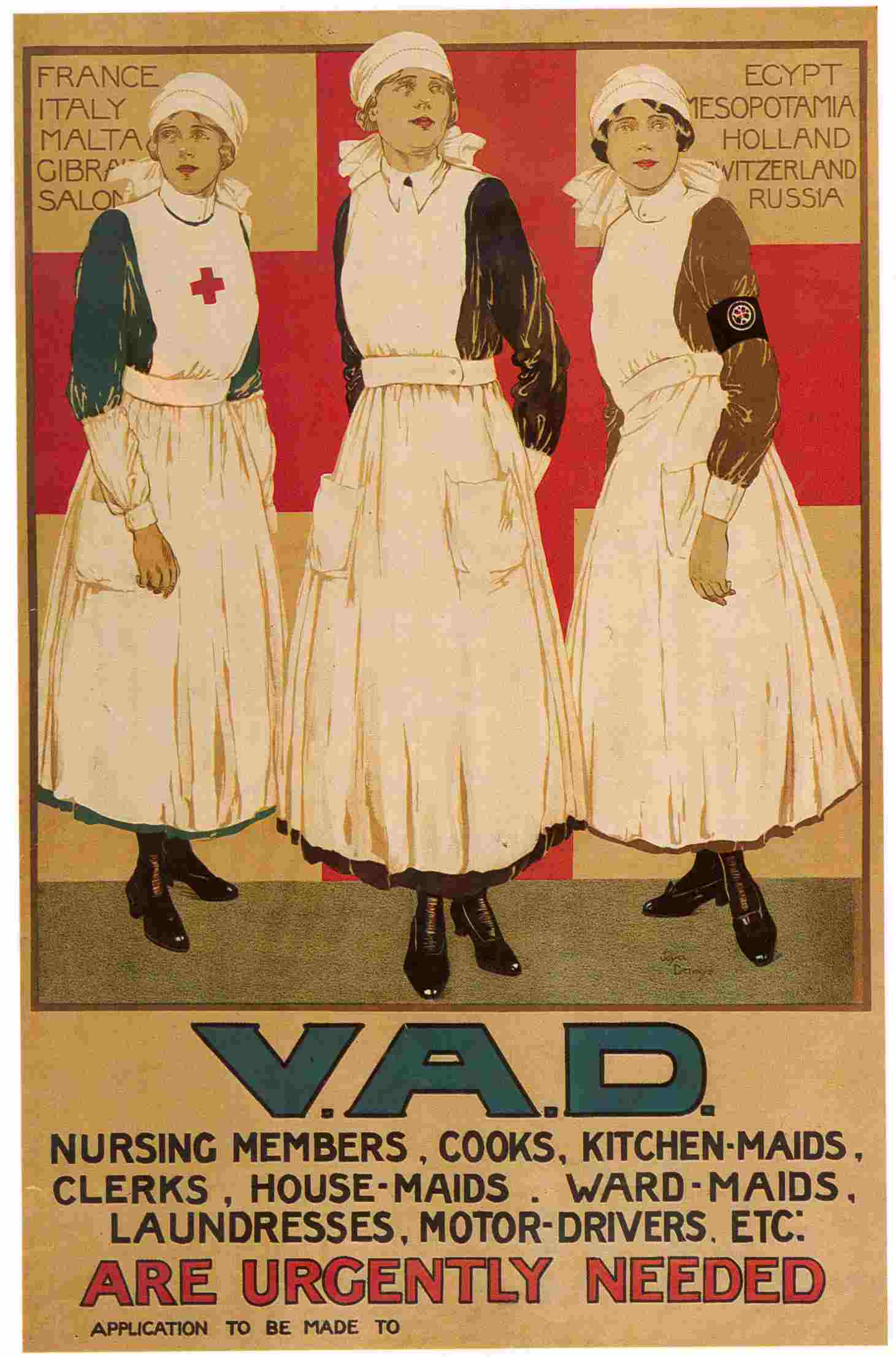 6f069d230d801 British Red Cross WWI service records go online | Illustrated London ...